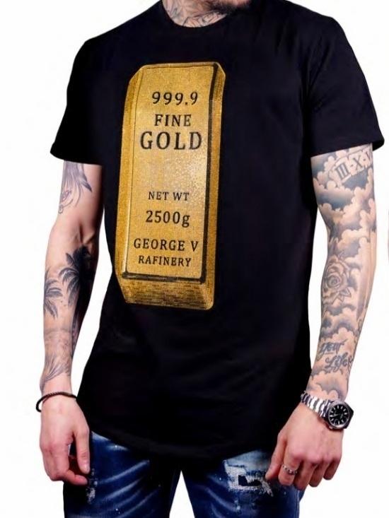 T-shirt GEORGE V find gold