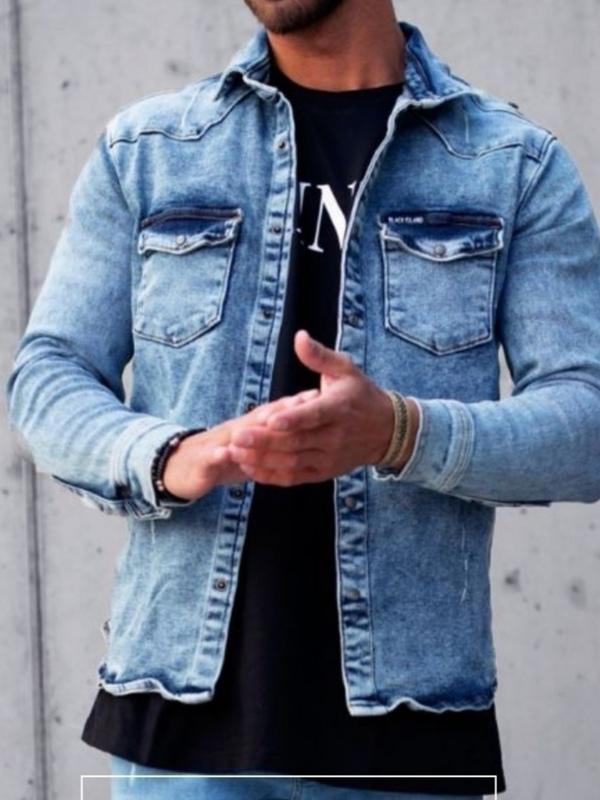 Veste jeans clair JOCKER