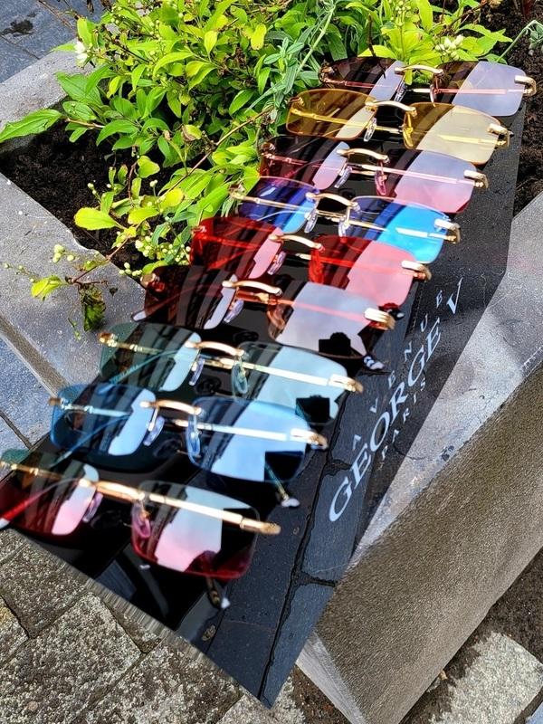 Lunette rectangle plusieurs coloris