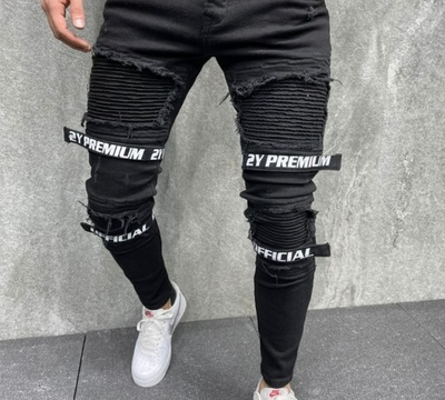 Jeans Noir Fashion (2Y)