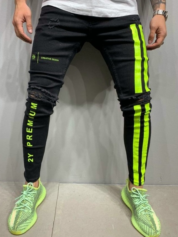 "jeans slim "" fluo"" or/ja"