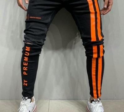 "jeans slim "" fluo"" or/ja"