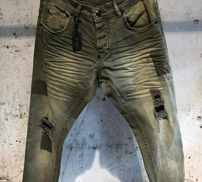 Jeans kaki UNIPLAY