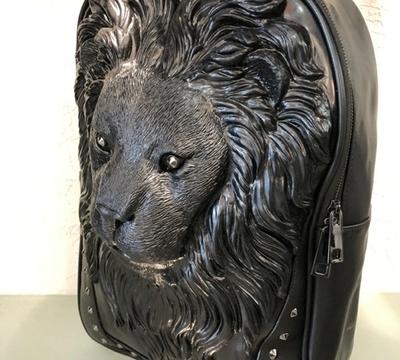 """SAC A DOS """" TETE DE LION """""""