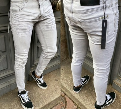 JEANS UNIPLAY GRIS
